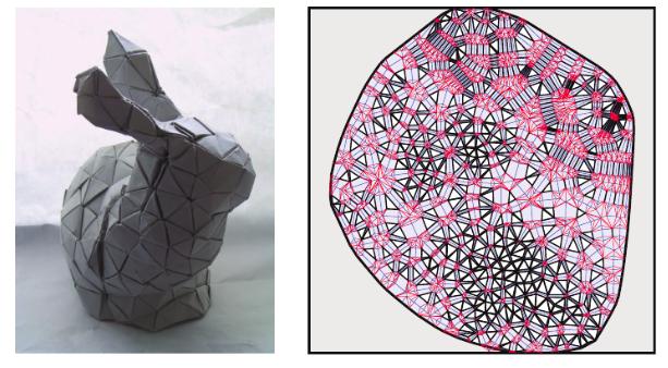 Создан алгоритм, генерирующий инструкции по складыванию оригами любой формы - 4