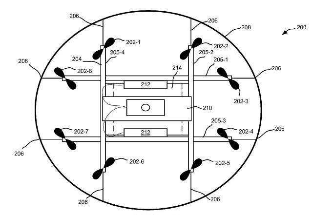 Доставка дронами: Amazon запатентовала башню для коптеров-курьеров - 2
