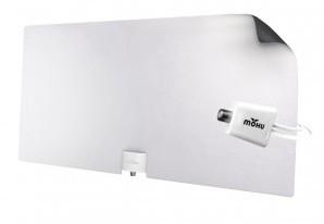 Комнатная антенна для телевизора Mohu Leaf Glide принимает сигнал на расстоянии более 100 км - 1