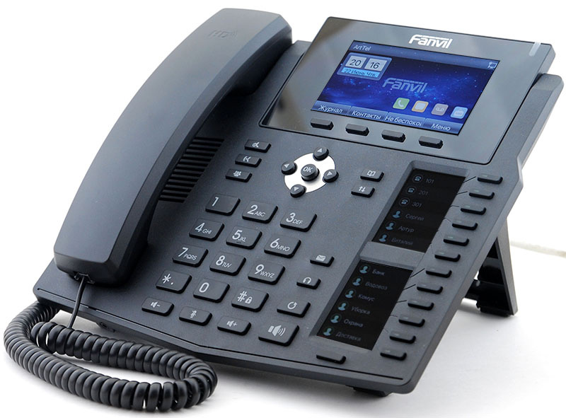 Новый IP-телефон Fanvil X6 - 1
