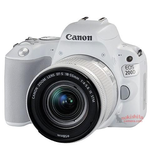 О цене камеры Canon EOS 200D пока данных нет
