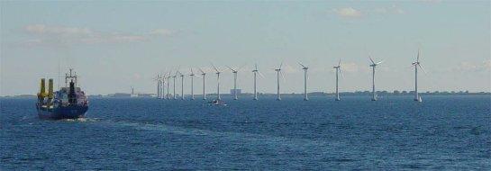 Открылась оффшорная ветровая ферма
