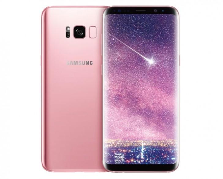 Представлен розовый вариант смартфона Samsung Galaxy S8+