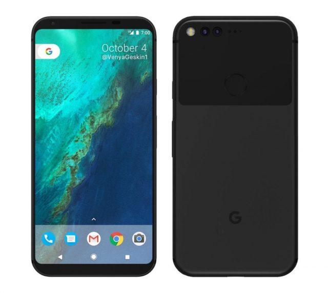 Опубликованы новые детали о смартфонах Google Pixel 2 и Google Pixel XL 2