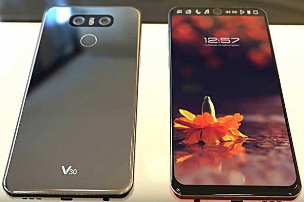 Смартфону LG V30 приписывают стеклянную заднюю панель и возможность беспроводной зарядки