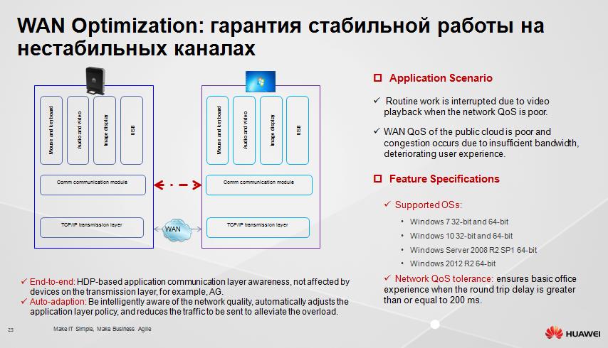 Защищенное рабочее место на базе VDI Huawei FusionCloud Desktop Solution 6.1 - 20