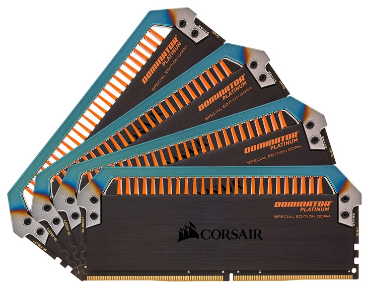 Набор CDM32GX4M2C3200C14T из двух модулей стоит $400, набор CDM32GX4M4C3200C14T из четырех модулей стоит $450