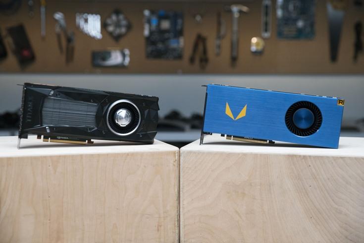 Radeon Vega Frontier Edition существенно опережает основного конкурента