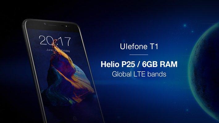 В следующем месяце Ulefone T1 увидит свет