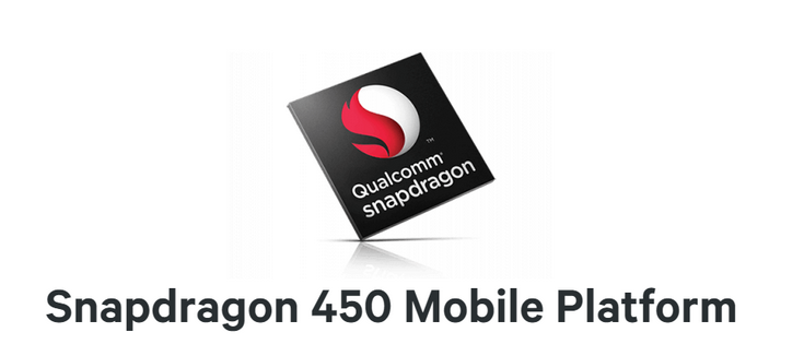 Qualcomm представила SoC Snapdragon 450