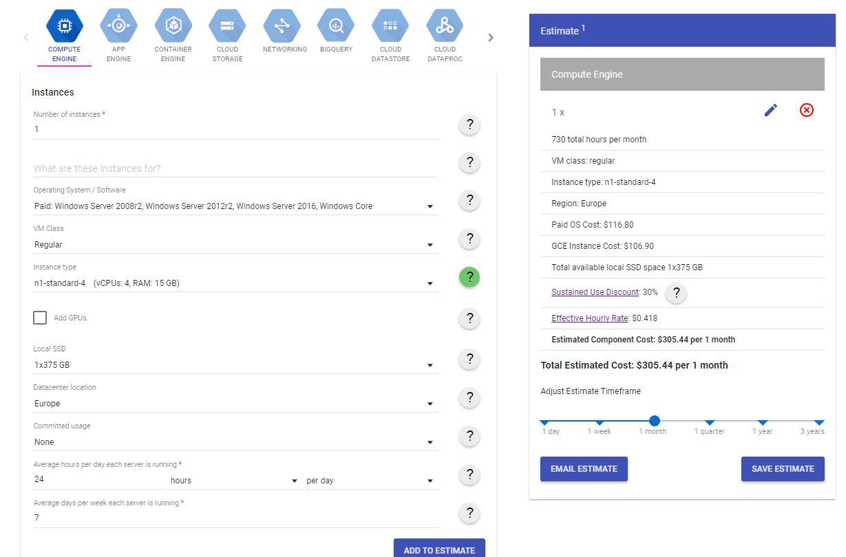 Легкий тест производительности облачных платформ AWS, Google Cloud и Microsoft Azure - 18