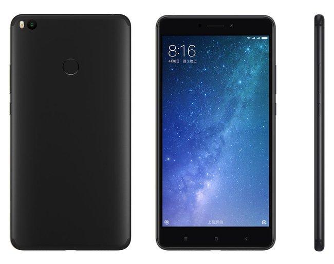 Смартфон Xiaomi Mi Max 2 стал доступен в цвете Matte Black