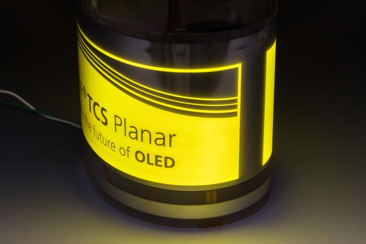 Основой панелей служит подложка TCS Planar