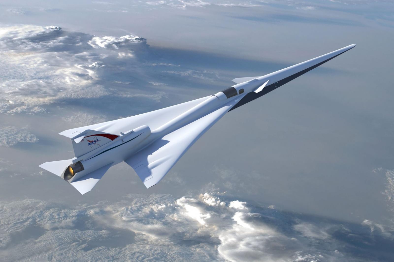 НАСА создаёт тихий сверхзвуковой лайнер с «мягким» звуковым ударом - 1