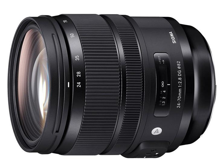 Объектив Sigma 24-70mm F2.8 DG HSM OS Art