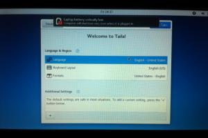 Еще один способ поставить tails на флешку (и вернуть свои гигабайты) - 10