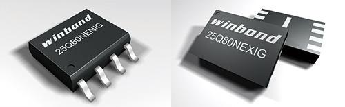 Одновременно выпущены микросхемы флэш-памяти типа NOR, работающие при напряжении питания 1,5 В
