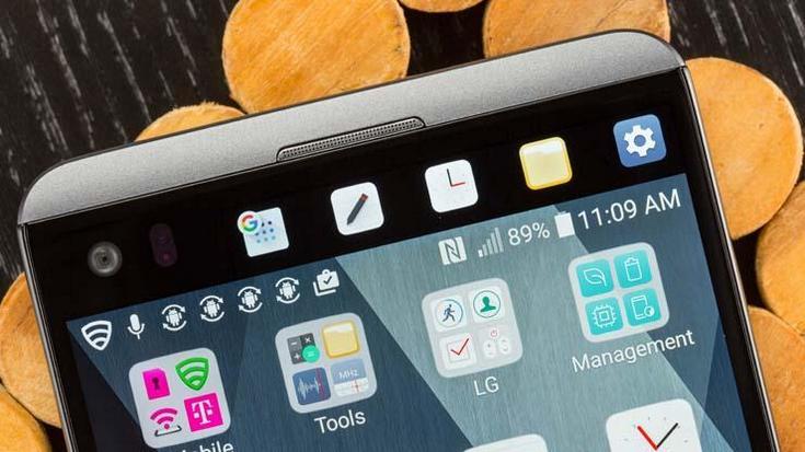 LG V30 не получит второй дисплей