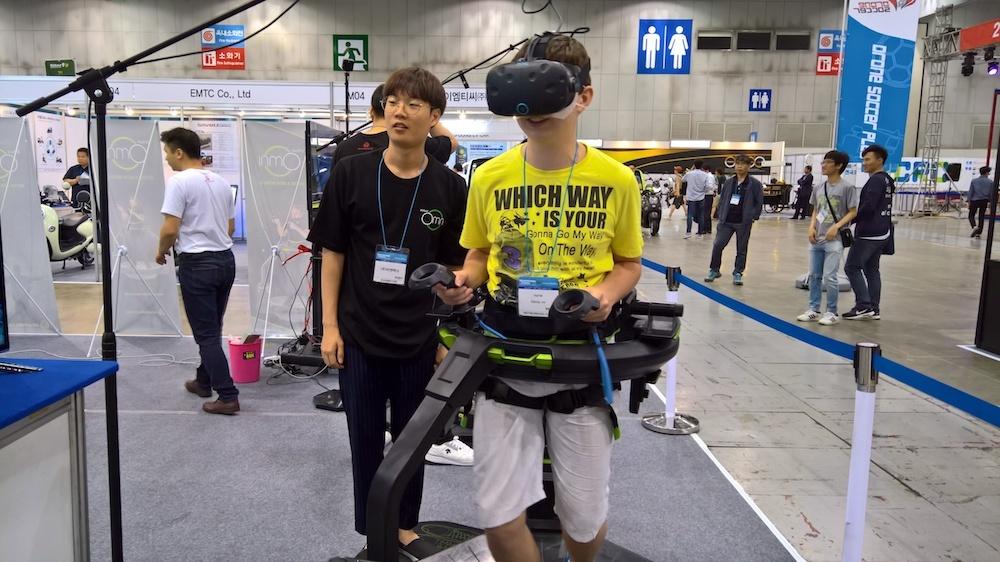 Обзор выставки Kintex (Ю.Корея, Сеул). Виртуальная реальность, дроны, 3D печать - 16