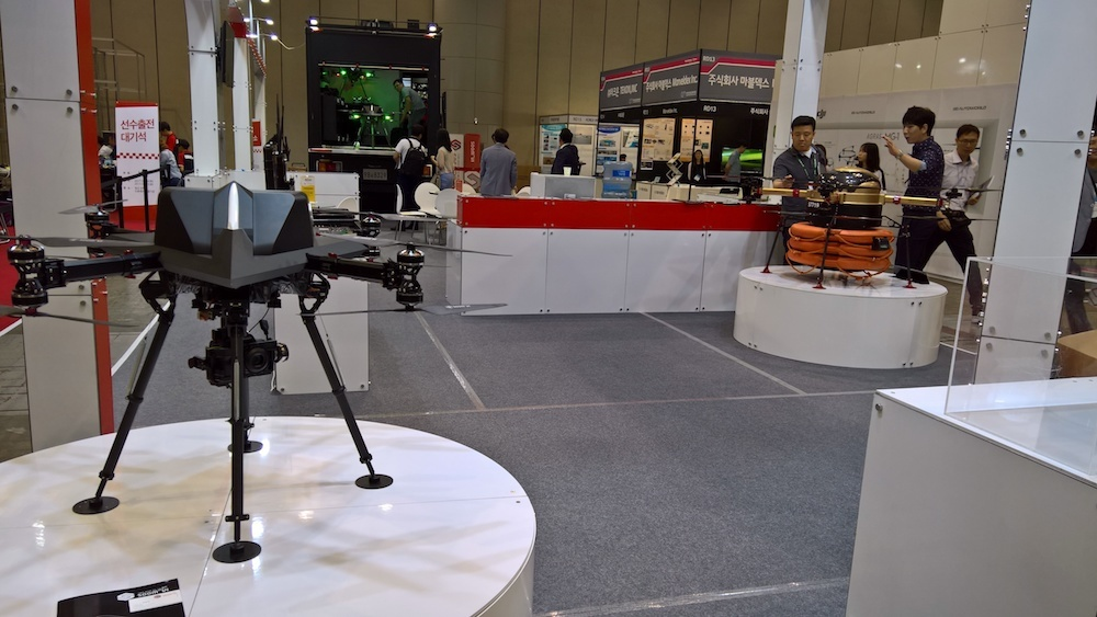 Обзор выставки Kintex (Ю.Корея, Сеул). Виртуальная реальность, дроны, 3D печать - 26