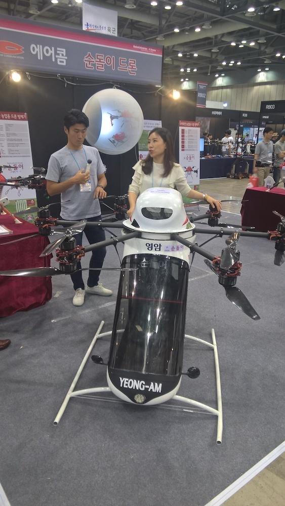 Обзор выставки Kintex (Ю.Корея, Сеул). Виртуальная реальность, дроны, 3D печать - 27