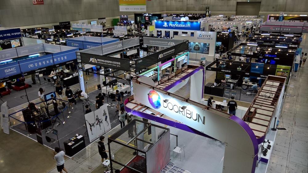 Обзор выставки Kintex (Ю.Корея, Сеул). Виртуальная реальность, дроны, 3D печать - 3