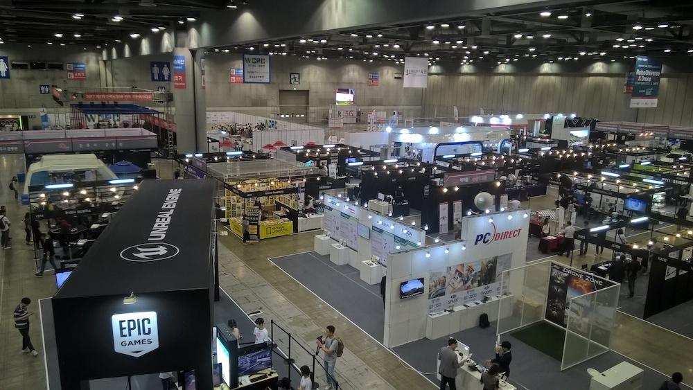 Обзор выставки Kintex (Ю.Корея, Сеул). Виртуальная реальность, дроны, 3D печать - 4