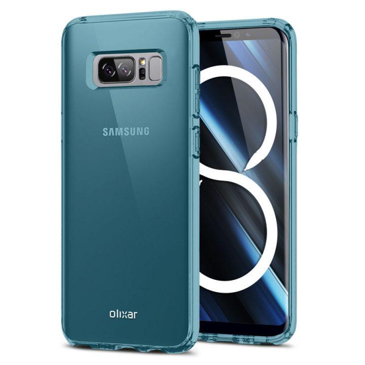 Производитель чехлов опубликовал качественные изображения Samsung Galaxy Note 8