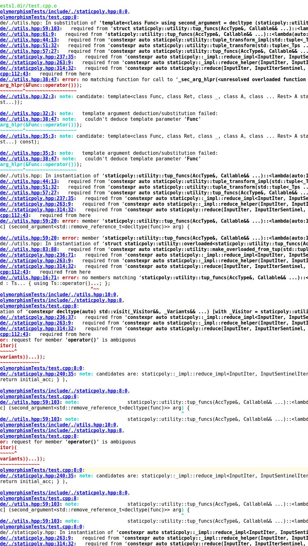 Работа с гетерогенными контейнерами с C++17 - 1