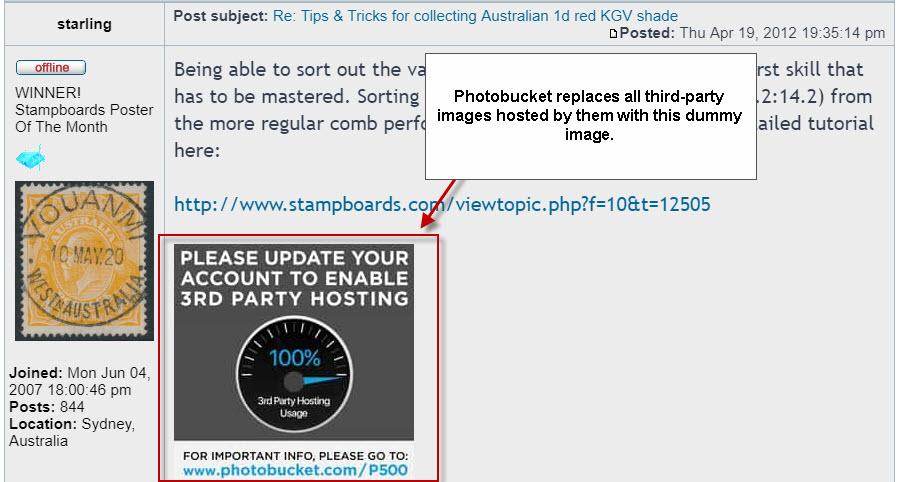 Photobucket запретил бесплатное встраивание изображений и поломал тысячи сайтов - 2