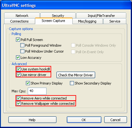 UltraVNC как замена TeamViewer - 19