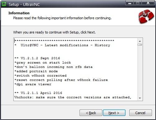 UltraVNC как замена TeamViewer - 24