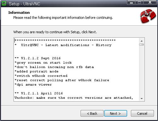 UltraVNC как замена TeamViewer - 4
