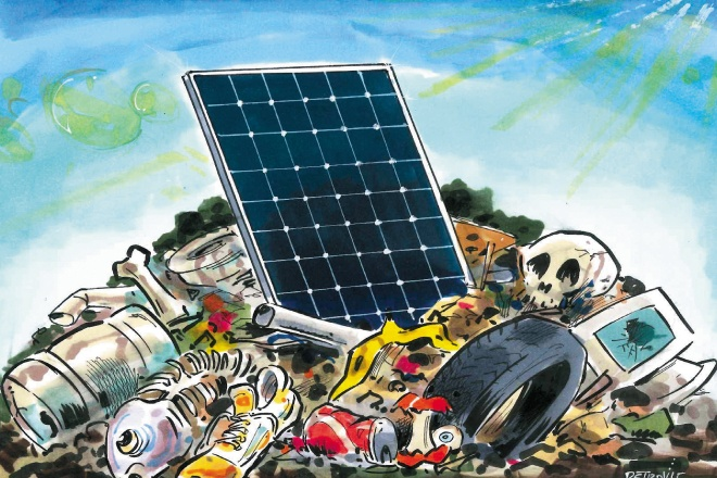 Солнечные панели — источник токсичных электронных отходов, считают эксперты - 1