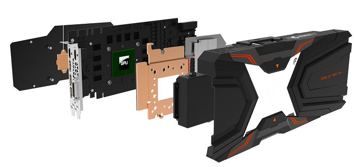 Ускоритель Gigabyte Aorus GeForce GTX 1080 Ti Waterforce Xtreme Edition 11G не требует докупки дополнительных элементов охлаждающей системы