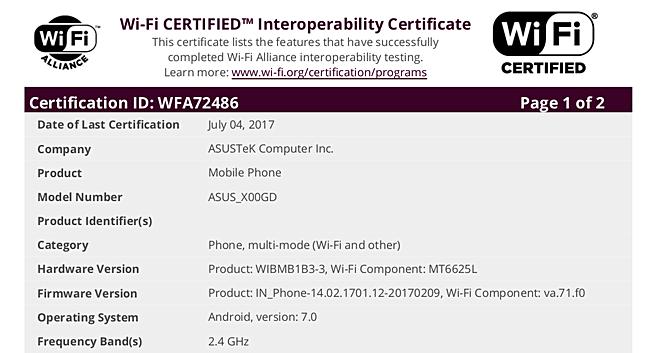 За сертификацией в WiFi Alliance обычно следует скорый анонс новинки