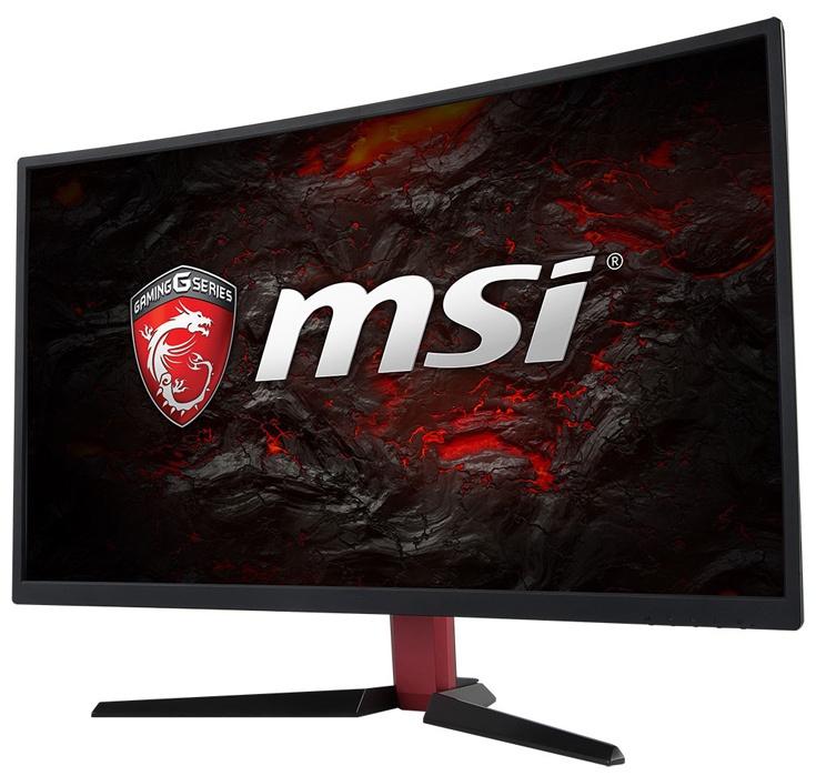 Монитор MSI Optix G24C поддерживает технологию адаптивной синхронизации AMD FreeSync