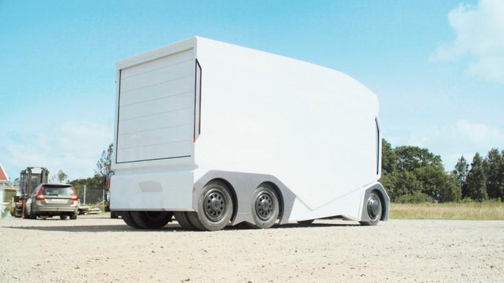 Беспилотные грузовики Einride T-pod появятся на дорогах Швеции в 2020 году