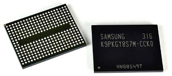 Из-за низкого процента выхода годной памяти 3D NAND на мощностях SK Hynix и Toshiba, компании Apple придется закупать ее у Samsung