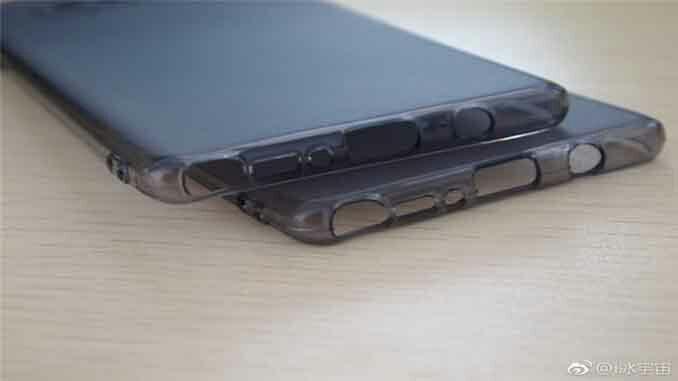 Изображение чехла для смартфона Samsung Galaxy Note 8 подтверждает наличие разъема 3,5 мм