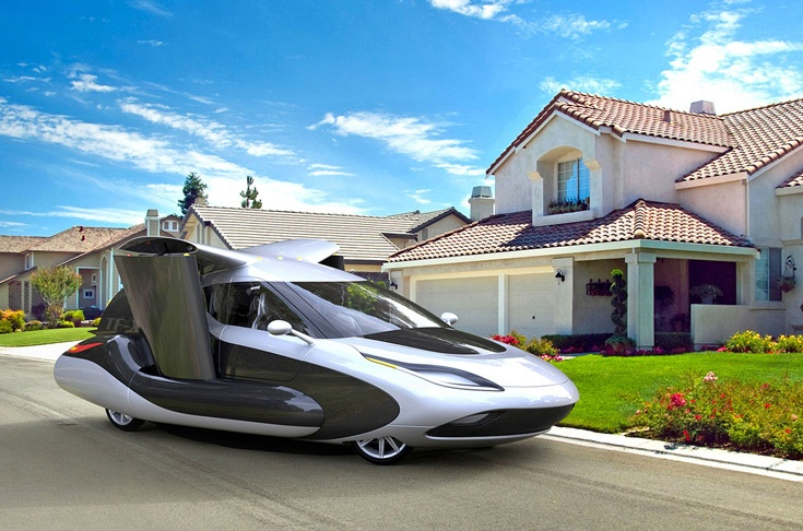 Компания Terrafugia разработала летающий автомобиль Transition