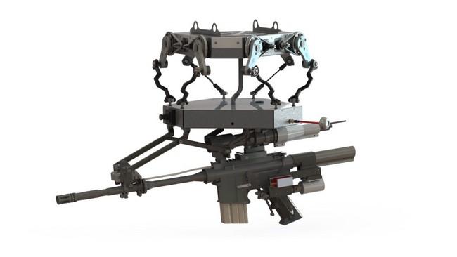 Duke Robotics поставляет США и Израилю квадрокоптеры, вооруженные автоматами и гранатометами