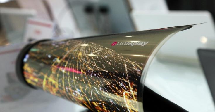 Экраны для сворачиваемых телевизоров будут предложены размером 55 и 75 дюймов