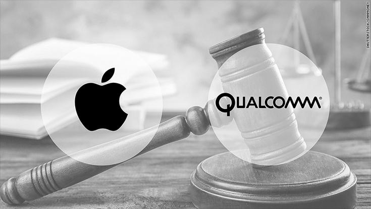 Qualcomm обвиняет Apple в нарушении шести патентов
