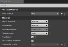 Как создать билборд-текстуру растительности в Unreal Engine 4 - 3