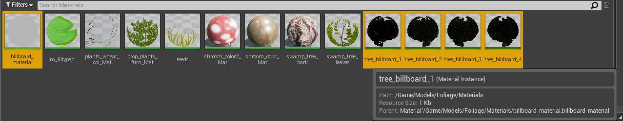 Как создать билборд-текстуру растительности в Unreal Engine 4 - 4