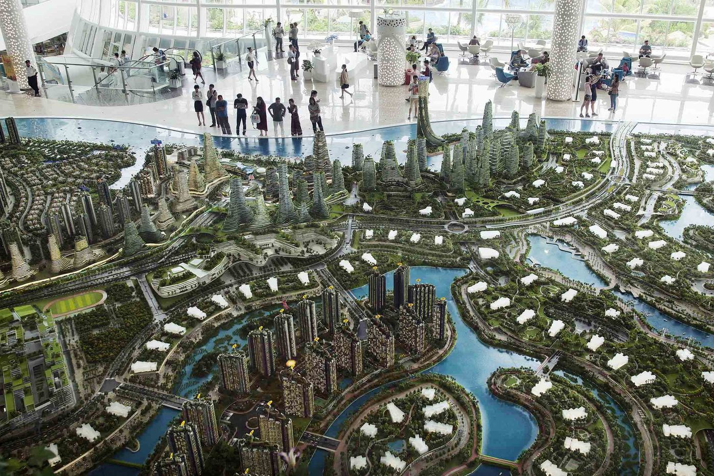 Строящиеся города будущего: энергия, переработка, безотходная среда - 1