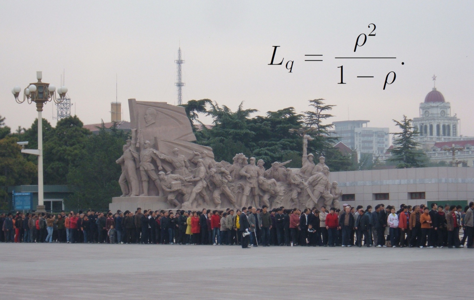 Фото очереди в мавзолей Мао Цзэдуна —  BrokenSphere / Wikimedia Commons