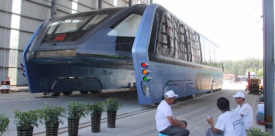 Создатели футуристического китайского электробуса оказались мошенниками