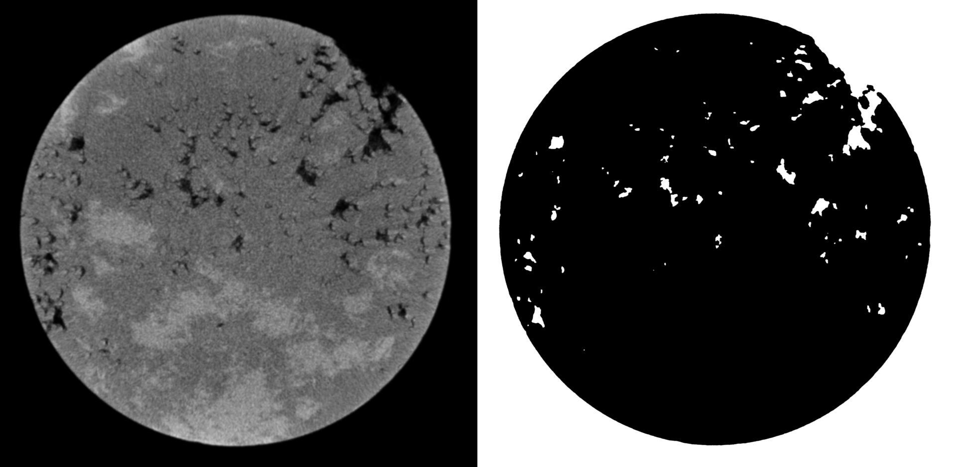 Бинарная сегментация изображений методом фиксации уровня (Level set method) - 10